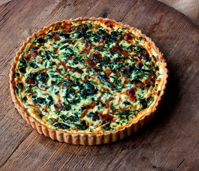 Spinach tart cropped